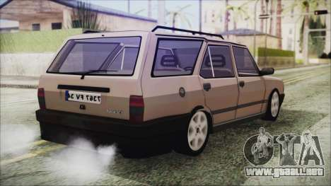 Tofas Kartal SLX 1998 Modified para GTA San Andreas left