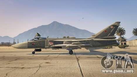 GTA 5 SU-24M segunda captura de pantalla