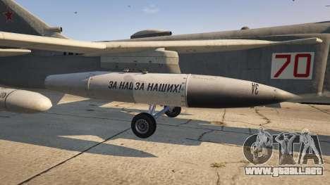 GTA 5 SU-24M cuarto captura de pantalla