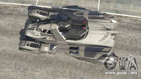 GTA 5 Batmobile Mk2 v0.9 vista trasera