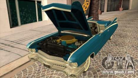 Cadillac Eldorado Biarritz 1959 para la visión correcta GTA San Andreas