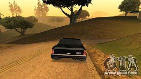FBIranch By MarKruT para GTA San Andreas vista posterior izquierda
