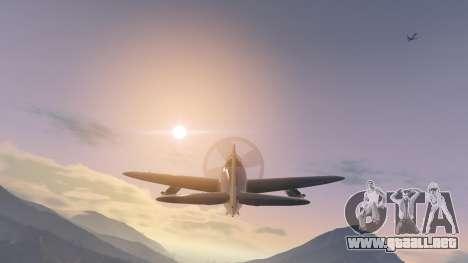GTA 5 P-47D Thunderbolt quinta captura de pantalla