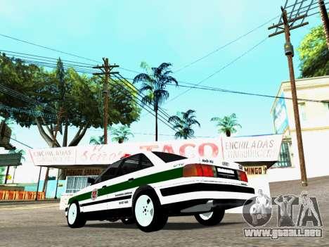 Audi 100 C4 1995 Police para GTA San Andreas left