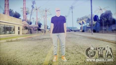 GTA Online Skin 55 para GTA San Andreas segunda pantalla