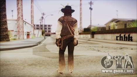 John Marston from Red Dead Redemtion para GTA San Andreas tercera pantalla