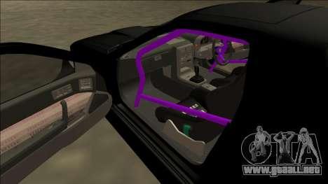 Mazda RX-7 FC Drift para la vista superior GTA San Andreas