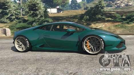 Lamborghini Huracan [LibertyWalk] v1.1 para GTA 5