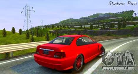 Passo Del Stelvio Pista para GTA 4 segundos de pantalla