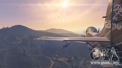 GTA 5 Embraer A-29B Super Tucano House décima captura de pantalla