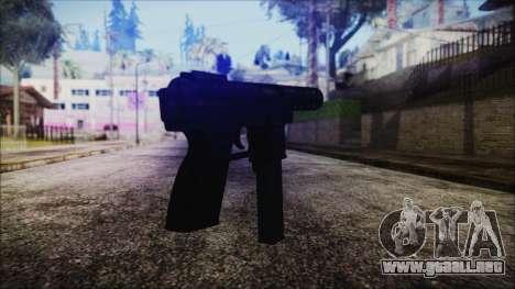 TEC-9 Tiger Stripe para GTA San Andreas segunda pantalla