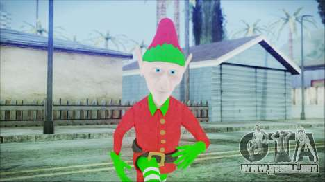 Christmas Elf v1 para GTA San Andreas
