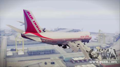 Boeing 747-237Bs Air India Harsha Vardhan para GTA San Andreas left