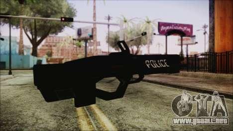 Cyberpunk 2077 Rifle Police para GTA San Andreas segunda pantalla