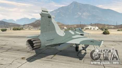 GTA 5 Saab JAS 39 Gripen NG FAB [Beta] tercera captura de pantalla