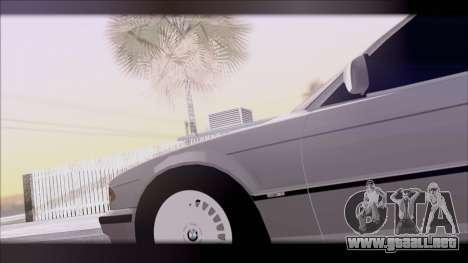 BMW 7-er E38 para la visión correcta GTA San Andreas