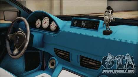 GTA 5 Albany Primo Custom Bobble Version IVF para GTA San Andreas vista hacia atrás