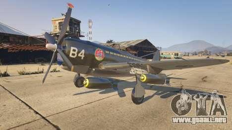 GTA 5 P-47D Thunderbolt