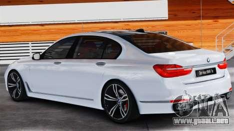 BMW 7-er 2016 v2.0 para GTA 4 left