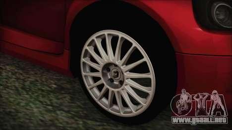 Renault Clio v6 Tunable para GTA San Andreas vista posterior izquierda