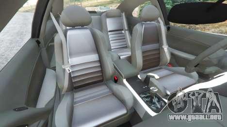 GTA 5 Holden Monaro CV8-R 2005 vista lateral derecha