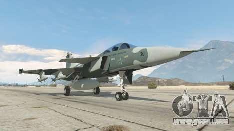 GTA 5 Saab JAS 39 Gripen NG FAB [Beta] sexta captura de pantalla
