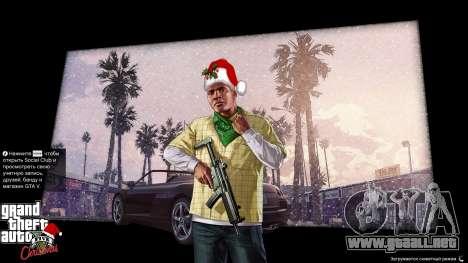 GTA 5 La navidad pantallas de carga quinta captura de pantalla