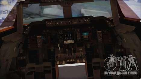 Boeing 747-237Bs Air India Rajendra Chola para la visión correcta GTA San Andreas