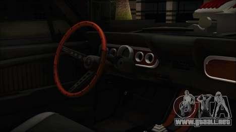 Ford Mustang Fastback 1966 Chrome Edition para la visión correcta GTA San Andreas