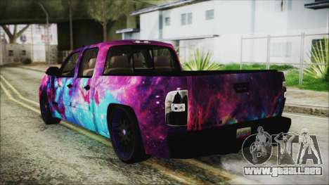 GMC Sierra Galaxy para GTA San Andreas left