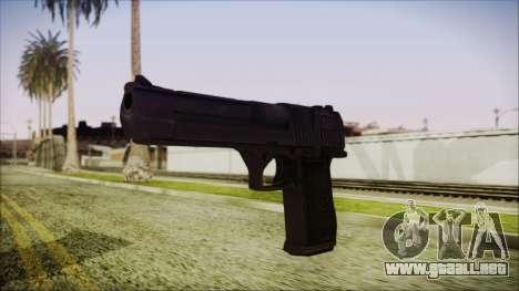 PayDay 2 Deagle para GTA San Andreas segunda pantalla
