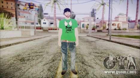 GTA Online Skin 16 para GTA San Andreas segunda pantalla