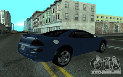 Mitsubishi Eclipse GTS Tunable para GTA San Andreas left