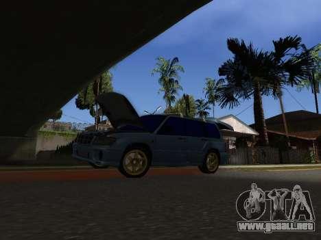 Subaru Forester 1998 para la visión correcta GTA San Andreas