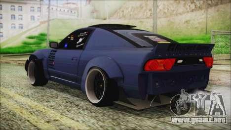 Nissan 180SX Rocket Bunny Edition para GTA San Andreas left