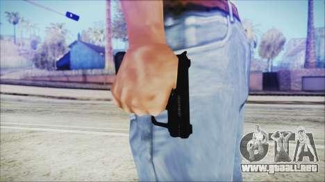 GTA 5 SNS Pistol v3 - Misterix Weapons para GTA San Andreas tercera pantalla