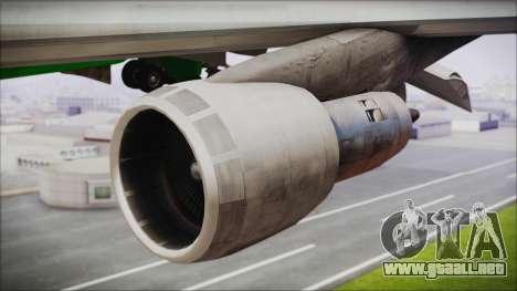 Boeing 747-100 Merry Christmas and Happy NY para la visión correcta GTA San Andreas