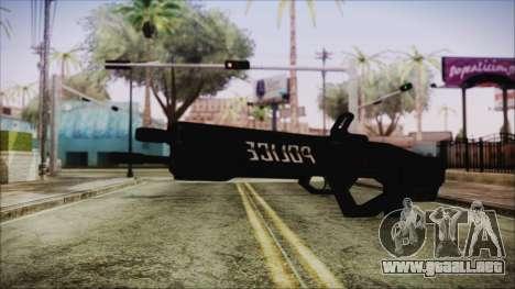 Cyberpunk 2077 Rifle Police para GTA San Andreas