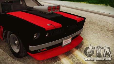 GTA 5 Declasse Tampa IVF para visión interna GTA San Andreas