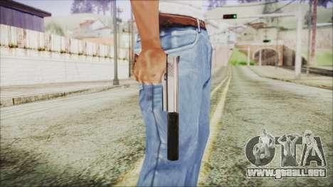 Wildey Magnum para GTA San Andreas tercera pantalla
