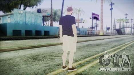 GTA Online Skin 4 para GTA San Andreas tercera pantalla
