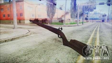 GTA 5 Musket - Misterix 4 Weapons para GTA San Andreas segunda pantalla