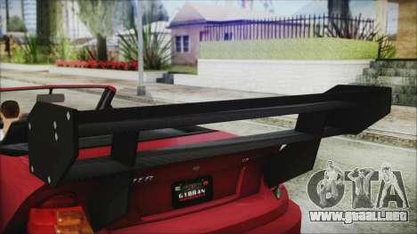 Benefactor Feltzer Super Sport para la visión correcta GTA San Andreas