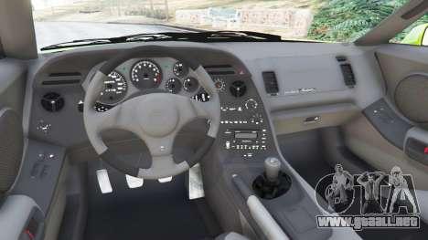 GTA 5 Toyota Supra JZA80 vista lateral trasera derecha