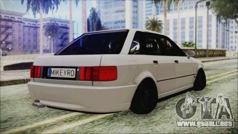 Audi 80 B4 RS2 New para GTA San Andreas left
