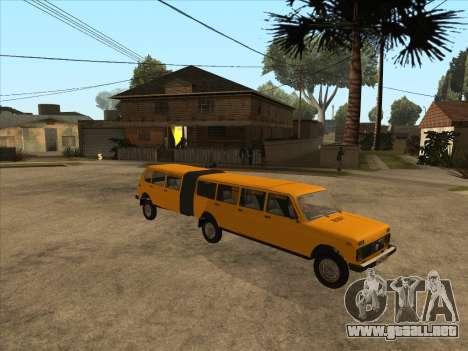 VAZ 2131 Hyper para GTA San Andreas left