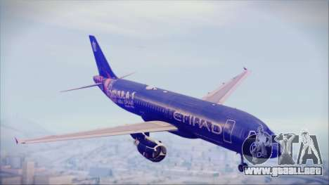 Airbus A320-200 Etihad Airways Abu Dhabi Grand para GTA San Andreas