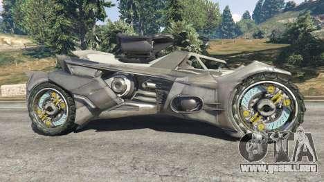 GTA 5 Batmobile Mk2 v0.9 vista lateral izquierda