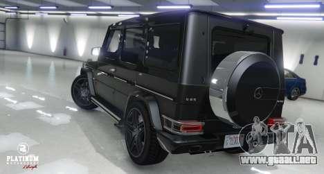 Mercedes-Benz G63 AMG v1 para GTA 5