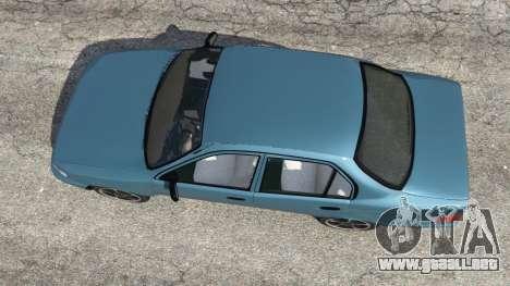 GTA 5 Toyota Corolla 1.6 XEI v1.02 vista trasera